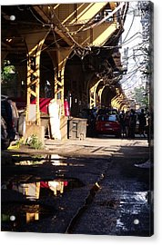 The Alley I Acrylic Print by Anna Villarreal Garbis