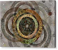 The Almagest - Homage To Ptolemy - Fractal Art Acrylic Print by NirvanaBlues
