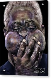 The Amazing Gillespie  Acrylic Print by Reggie Duffie