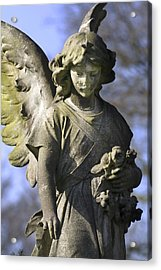 The Angel's Blessing Acrylic Print by Marc Huebner