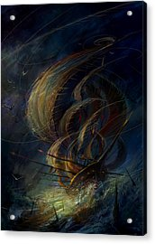 The Apparation Acrylic Print by Philip Straub