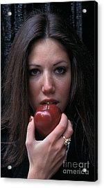The Apple Acrylic Print by Marc Bittan