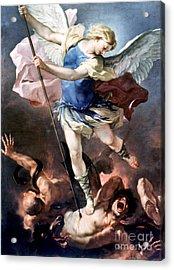 The Archangel Michael Acrylic Print by Granger