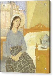 The Artist In Her Room In Paris Acrylic Print by Gwen John