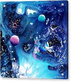 The Baby Ceraphladon Acrylic Print by Lee Pantas