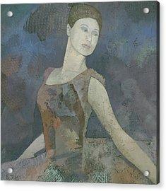 The Ballerina Acrylic Print by Steve Mitchell