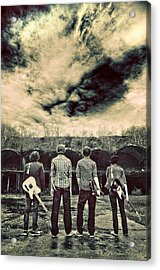 The Band Has Arrived Acrylic Print by Meirion Matthias