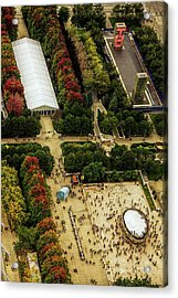 The Bean From Above Acrylic Print by Andrew Soundarajan