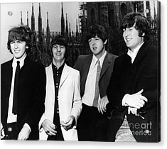 The Beatles, 1960s Acrylic Print by Granger