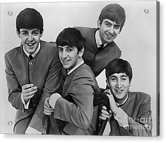 The Beatles, 1963 Acrylic Print by Granger