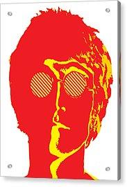 The Beatles No.09 Acrylic Print by Caio Caldas