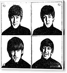 The Beatles No.13 Acrylic Print by Caio Caldas