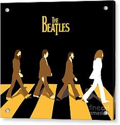 The Beatles No.19 Acrylic Print by Caio Caldas