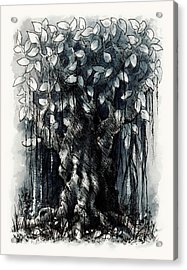 The Beautiful Tree Acrylic Print by Rachel Christine Nowicki