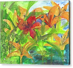 The Beauty Of Spring 2009 Acrylic Print by Claudia Smaletz