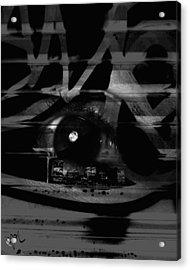 The Beholder Acrylic Print by Ken Walker