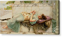 The Betrothed Acrylic Print by John William Godward