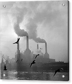 The Big Smoke Acrylic Print by Central Press