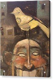 The Birdman Of Alcatraz Acrylic Print by Tim Nyberg