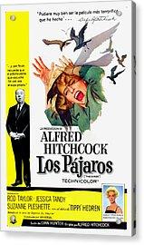 The Birds, Aka Los Pajaros, Alfred Acrylic Print by Everett