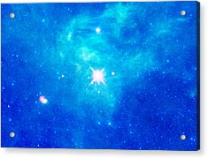 The Birth Of Stars In The Constellation Camelopardalis Acrylic Print by American School