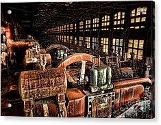 The Blower House Acrylic Print by Olivier Le Queinec