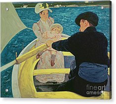 The Boating Party Acrylic Print by Mary Stevenson Cassatt