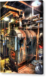 The Boiler Room Acrylic Print by Michael Garyet