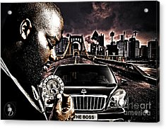 The Boss Acrylic Print by The DigArtisT