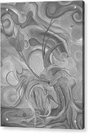 The Break Up Acrylic Print by Ashley Bostrom