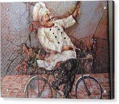 Baked Fresh Daily Acrylic Print by Joyce Woodhouse