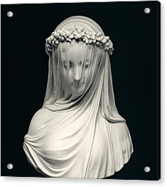 The Bride Acrylic Print by English School