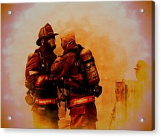 The Brotherhood Acrylic Print by Diane Payne