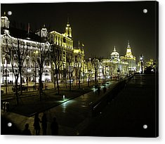 The Bund - Shanghai's Famous Waterfront Acrylic Print by Christine Till