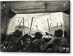 The Bunker  Acrylic Print by Graham Coton