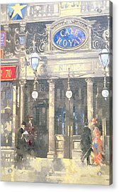 The Cafe Royal Acrylic Print by Peter Miller
