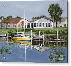 The Canal Awakens Acrylic Print by Sodi Griffin