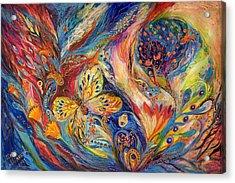 The Chagall Dreams Acrylic Print by Elena Kotliarker