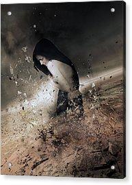 The Change Acrylic Print by Mary Hood