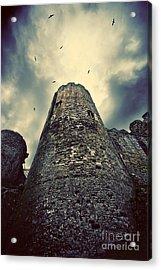 The Chapel Tower Acrylic Print by Meirion Matthias