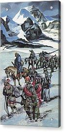 The Cherokee Acrylic Print by Ron Embleton