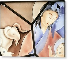 The Chinese Jesus Acrylic Print by Christine Till