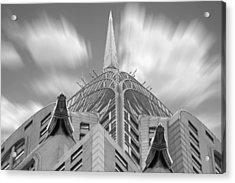 The Chrysler Building 2 Acrylic Print by Mike McGlothlen