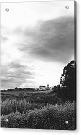 The Church At Salga Azores Portugal Acrylic Print by Henry Krauzyk