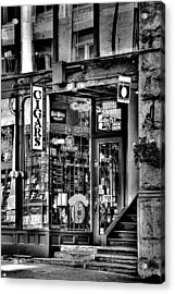 The Cigar Store Acrylic Print by David Patterson