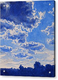 The Cloud Procession Acrylic Print by Andrew Danielsen