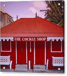 The Cockle Shop Acrylic Print by Shaun Higson
