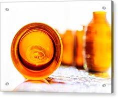 The Colour Of Amber II Acrylic Print by Jon Woodhams