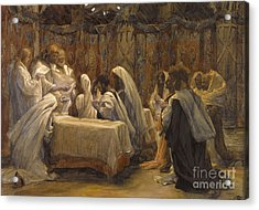 The Communion Of The Apostles Acrylic Print by Tissot