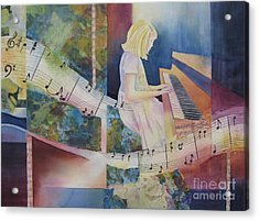 The Composition Acrylic Print by Deborah Ronglien